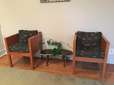 Mission Arts and Crafts pair of chairs