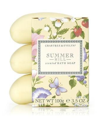 Summer Hill Triple Milled Soap 3x100g by Crabtree & Evelyn