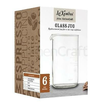 Le?Xpress Replacement 6 Cup Glass Jug