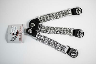 Juego extensores para chaleco 3 vest extender set Skull Chain AC8182K