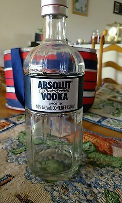 Absolut Mode limited edition 750 ml empty bottle