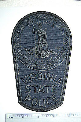 Virginia State Police Blue Tack Team Patch