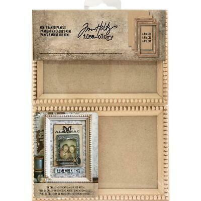 Tim Holtz Idea-Ology - Mini Framed Panels - Pack of 2