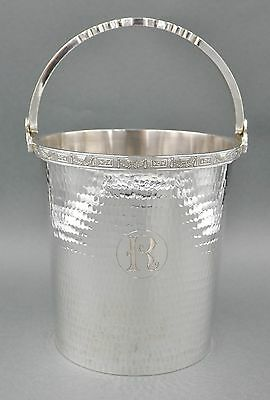 Fine Antique Chinese Sterling Silver Art Deco Monumental 1570 GRAM Ice Bucket