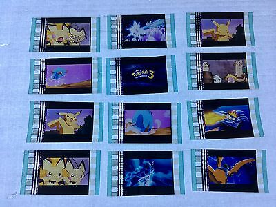 Pokemon 3 (2000) Movie 35mm Film Cells Film cell Unmounted filmcell