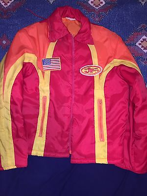 Jt Racing Vintage Nylon 1970 70's Nylon Jacket Coat Honda Yamaha Perfect Maico