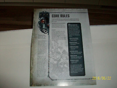 Warhammer 40K Dark Imperium 8Th Edition Core Rules