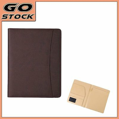 A4 Conference Folder  PU Leather Business Portfolio Organiser Planner Holder