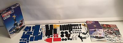 Vintage 1980s TENTE Construction Space Base/Station w/ Spacecraft and 2 Spacemen