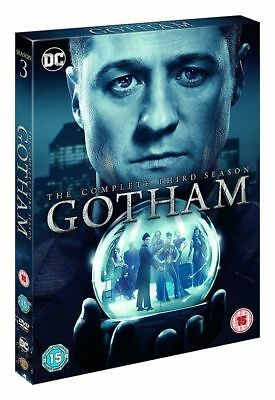 Gotham Season 3 Complete DVD Boxset New & Sealed UK Compatible