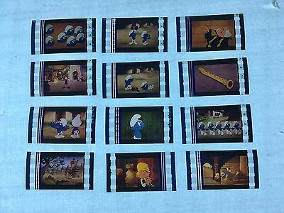 The Smurfs and the Magic Flute (1976) Movie 35mm Film Cells Film cell Unmounted