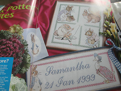 'Beatrix Potter Favourites' cross stitch chart (only)