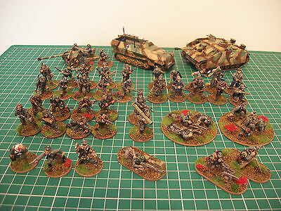 Painted 28mm ww2 bolt action German late war 1000 points army