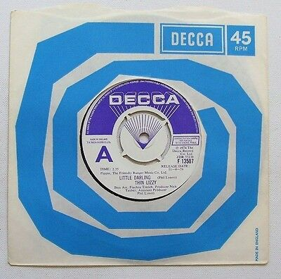 Thin Lizzy - Little Darling / Buffalo Gal - 1974 DECCA Promo (EX)