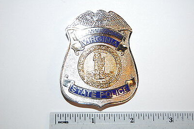 Virginia State Police 75th Anni Badge #2