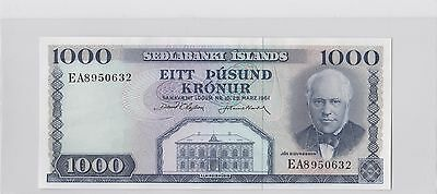 Iceland Set of 6 Notes UNC