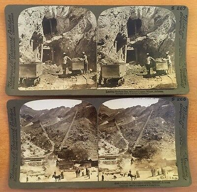 METCALF AZ COPPER MINES 1903 Stereoview Photographs ARIZONA MINING HISTORY PHOTO