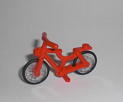 LEGO City - Fahrrad rot - Bicycle Bike Rad Minifig Figur Stadt 60134 60026 60097