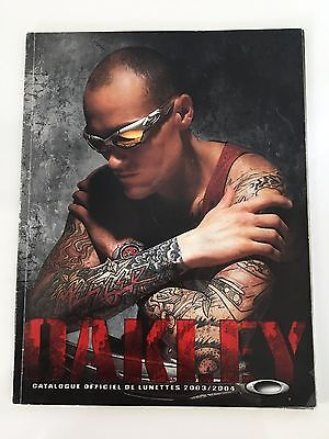 Authentique Catalogue Oakley 2003/2004 Collector Display Lunettes
