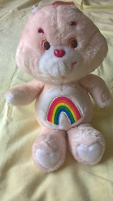 Care Bear Pink Cheer bear soft toy