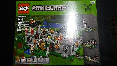 LEGO Minecraft THE FORTRESS (21127) BRAND NEW & SEALED