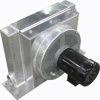 """New Prm Xt Series Heat Exchanger 18"""" Core .5 Hp 3 Ph Tefc Motor 2"""" Fnpt In/out"""