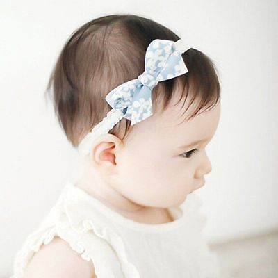 Baby Toddler Infant Girls Various Headband Bow Band Hair Accessories
