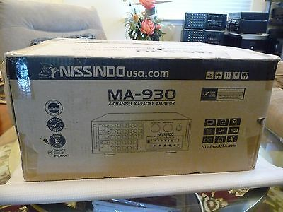 Nissindo MA-930 Stero Karaoke Mixing Amplifier With Remote Control