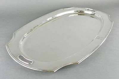 Fine Antique Chinese Sterling Silver Art Deco 2212 GRAM Tea Set Serving Tray