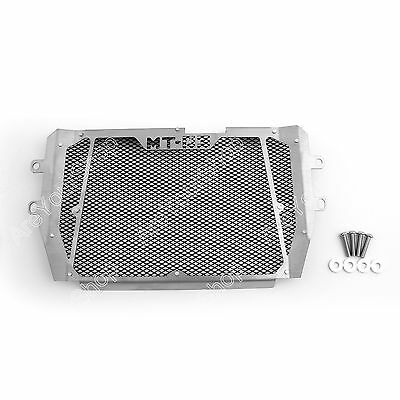 Radiator Grille Guard Cover Protector For 2015-2017 Yamaha MT-03 MT03 Black BS1