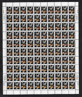 Canada Stamps -Full Pane of 100 -1999, Traditional Trades: Bookbinding #1673 MNH