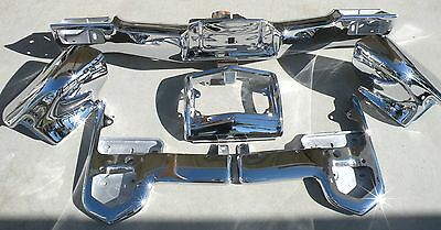 X Cadillac New Triple Plated Chrome Front Bumper 1965 65 Oem