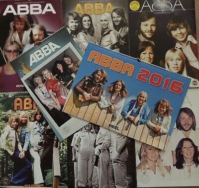 Abba Calendars From 2010 To 2016