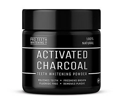 Activated Charcoal Natural Teeth Whitening Powder by Pro Teeth Whitening Co® |