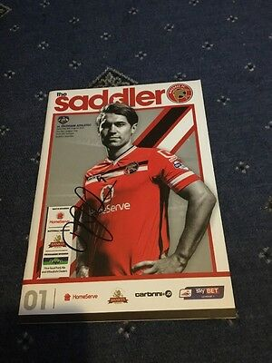 Signed Walsall Programme