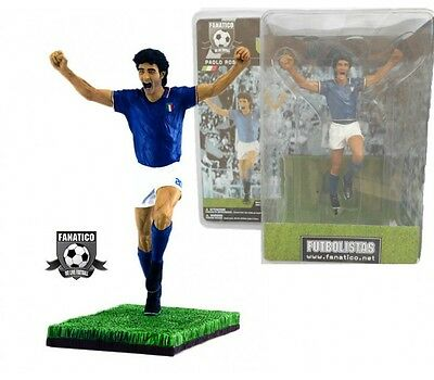 Calciatori Paolo Rossi football soccer calcio action figures Fanatico 16 cm