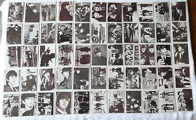 "1964 Topps  Beatles Movie ""A Hard Day's Night"" Complete Card Set $34.99"