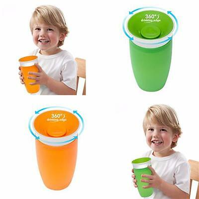 Munchkin Miracle 360 Sippy Cup Green/Orange  296ml