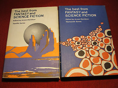 The Best From Fantasy and Science Fiction Book Club 1st  1963-64