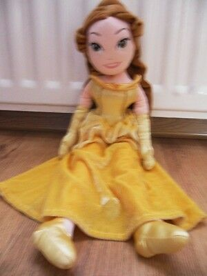 Disney Princess Belle  Beauty And The Beast Soft Toys Doll
