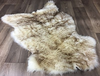 100% Genuine EU Lambskin Sheepskin Rug Factory Defect Dog Bed 67x46cm NO.ZA32