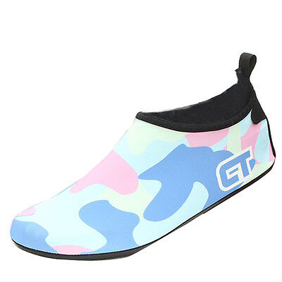 Kids Boys Girls Skin Aqua Socks Shoes Sport Beach Swim Exercise Water Footwear