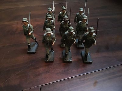 LINEOL ww2 German 10 man battalion