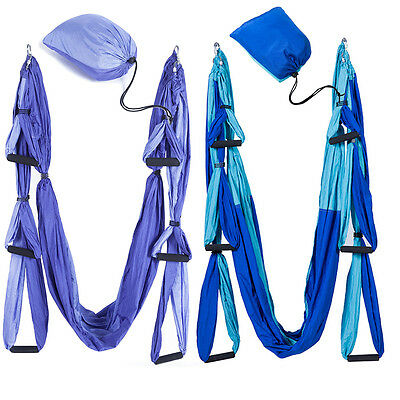 Aerial Yoga Trapeze Swing Sling Hammock Indoor Anti Gravity Inversion Prop Tools
