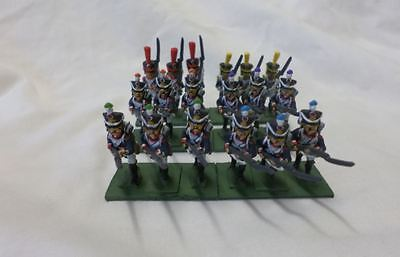 25mm Miniature Figurines Napoleonic French Infantry, 53rd Line Regiment, 3rd Bn