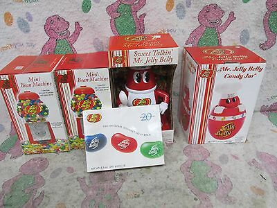 Never used - JELLY BELLY Jelly Bean Dispenser  - LOT