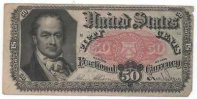 1875 50c 5th ISSUE FRACTIONAL CURRENCY - FR1381 (CRISPY NOTE)