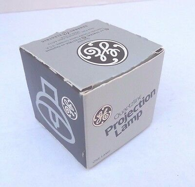 ELB GE Brand 80W 30V 2-Pin  Vintage Halogen Projector Lamp New Old Stock
