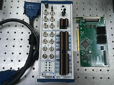 National Instruments BNC-2121, SH68-68-D1Cable, and PCI-6602 Board