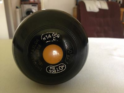 Crown green bowling Jack. by Thomas Taylor